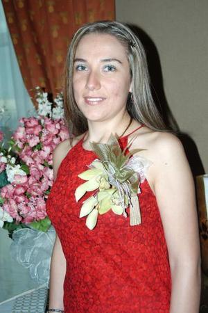 Con motivo de su cercano matrimonio Brenda Sánchez Hernández disfrutó de una despedida de soltera.