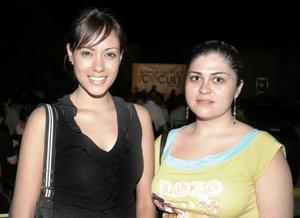 Emmy Arreola y Cinthya Román.
