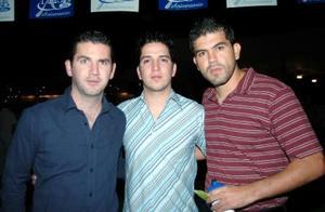 Fernanado gilio, Armando y Emilio González.