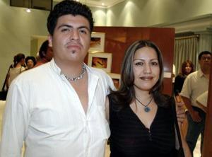 Jorge Lozano y Susana Chavarría de Lozano.