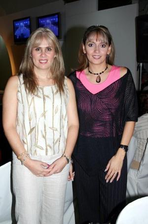 Liliana de Tueme y Beatriz de Aguilera.