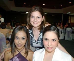 Marú Rodríguez, Karla Corrales e Ivette Elid