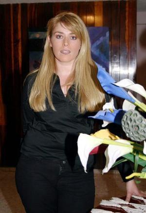 Naneth Molina Lizárraga festejó su cumpleñaos en días pasados.
