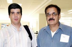 Orlando Mireles y Juan González viajaron al Distrito Federal