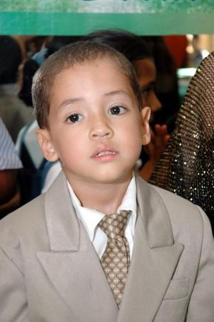 Johan Gerardo Dávila Reyna festejó su tercer cumpleaños