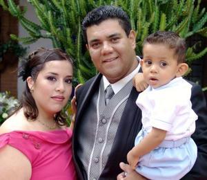 Luis Felipe Peralta, Nelly Ana Campero de Peralya y Luis Felipe Peralta Campero