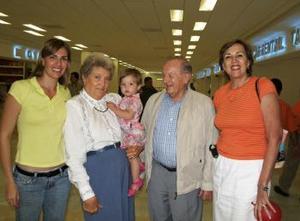 <u><i> 12 de octubre de 2004</u></i><p>  Arutro y Gerda Holts regrsaron a la Ciudad de México después de haber asistido a la boda de Antonio Miñarro y Ana Soltero