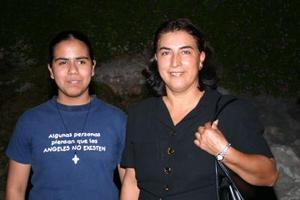 Luz María Miranda y Luz María González.