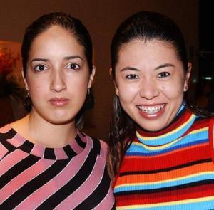 Emma Arellano y Mariana Álvarez.