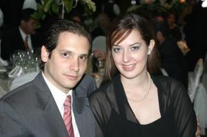 Severino González y Claudia de González.