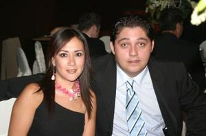 Julio Galván y Diana Barrios.