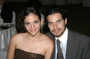 Fabiola y Antonio Fahur.