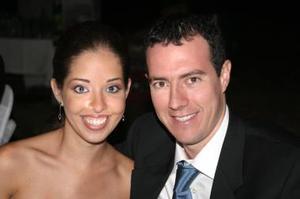 Daniela y Eduardo Zermeño.