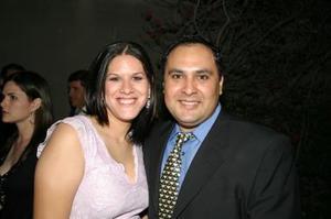 <u><i> 14 de octubre de 2004</u></i><p>  Adriana Díaz y Arón Flores.