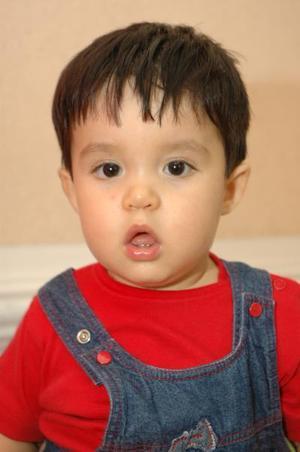 <u><i> 13 de octubre de 2004</u></i><p>  El pequeño Fernando Sánchez Arredondo, captado en el día de su cumpleñaos.