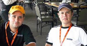 Francisco Gómez del Toro y Rodrigo Regalado.