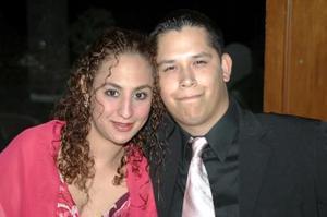 Tania Mansur y Ricardo Moreno.