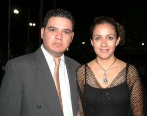 Mauricio e Ingrid Montañez.