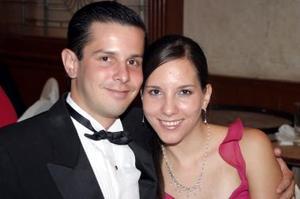Javier Robles y Mariana de Robles.