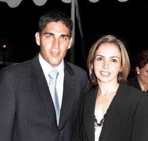 Fernando y Alejandra Russek.