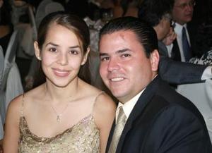Claudia de Garza y Alfredo Garza.