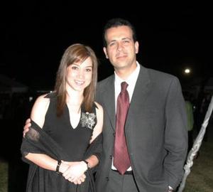<u><i> 16 de octubre de 2004</u></i><p>  Ana Elisa y Armando.
