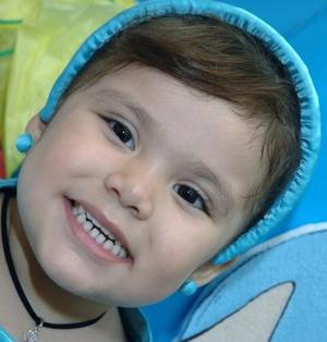 La pequeña Sofía Elizabeth Barrera MEza disfrutó de un festejo infantil por su tercer cumpleaños.