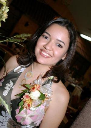 Marisa Terrazas Maltos fue festejada con una despedida de soltera.