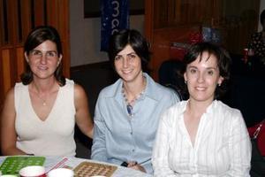 Pily Calleja, Laura Calleja y Letu Ruiz.