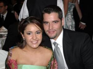 Francisco Zamora e Irma Eugenia Gómez.