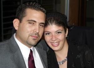 Gilberto Rueda y Roxana Montañez.