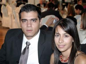Jorge Núñez y Ofelia Martos.