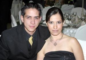 Juan Antonio Rodríguez y Alejandra Aguilar.