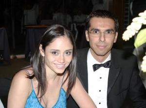 Mercedes Orozco y Rodrigo Medina.