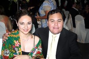 Priscila Álvarez y Fernanado Jaime.
