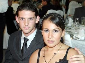 Pablo Sánchez y Zaira Silva.