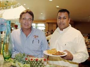 Alberto Guerrero y Antonio Chicoya.