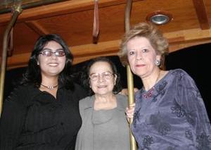 Judith Varela, Nungaray San Juana y Lourdes Bañuelos.