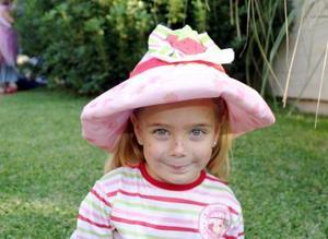 Ángela Fernández Karam, el día de su piñata