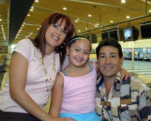 Natalia Aguilar Blázquez celebró su octavo cumpleaños acompañada por sus papás, Gabriel Aguilar y Adriana B. de Aguilar.