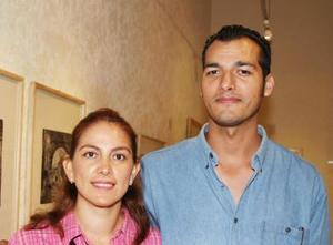 Julieta Arévalo y Arturo Robles