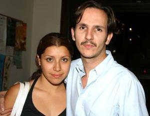 Niria Ramos y Luis García