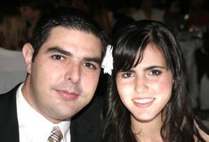 <u><i> 20 de octubre de 2004</u></i><p>  Pedro Ruenes  y Zaida Faccuseh