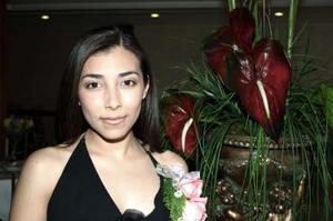 Alejandra Aguilar Salas, contraerá matrimonio en breve, y por tal motivo disfrutò de un festejo pre nupcial.