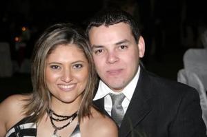 Alejandra Martínez y Efrén Cázarez Olvera..