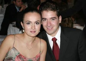 Érika Wolff y Adrián Aguilera.