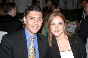 Morayma Berumen y Manuel Chavira
