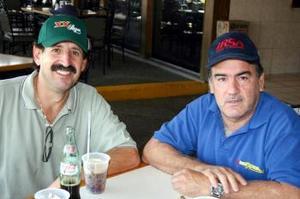 Gerardo Martínez y Alejandro Diez