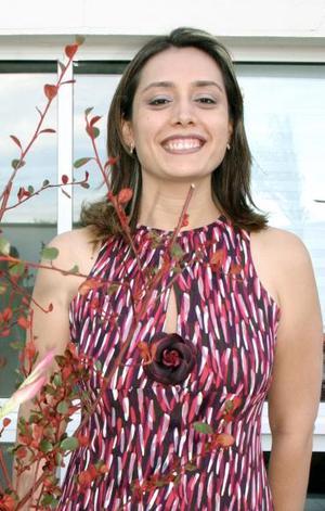 Érika Issa López de Lara disfrutó de una despedida de soltera.