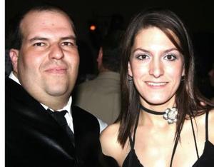 Gerardo Herrera y Adriana Rivera.